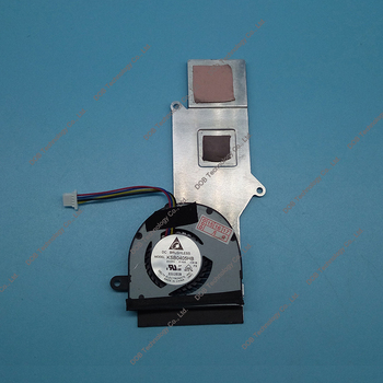 Ventilators Asus Eee PC 1025C 13GOA3F1AM020-10 3FEJ8TMJN00 Laptop CPU Dzesēšanas Heatsink un Ventilators 69094
